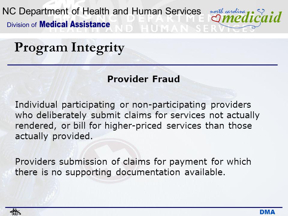 Program Integrity