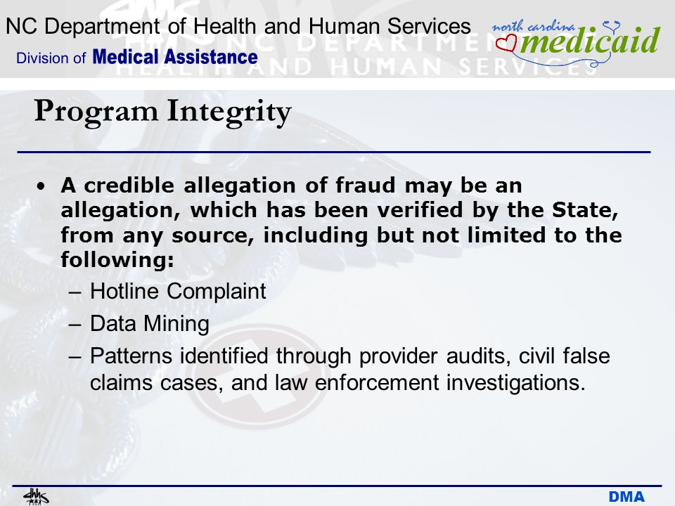 Program Integrity Hotline Complaint Data Mining