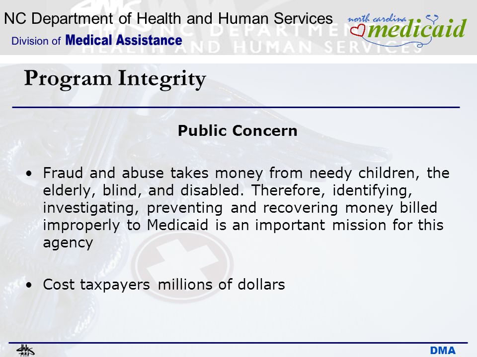Program Integrity Public Concern