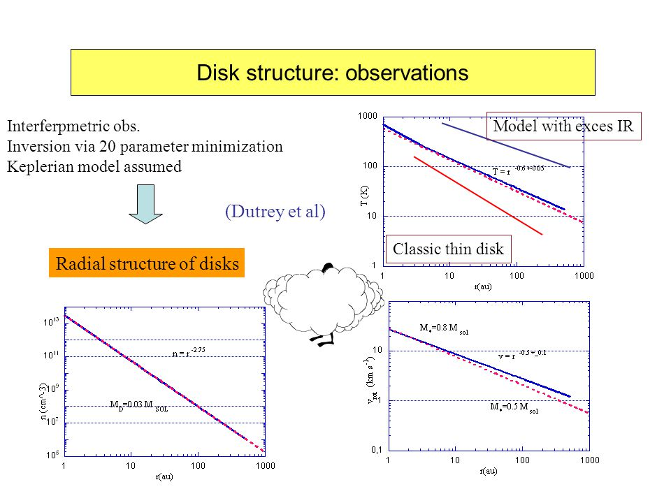 Disk structure: observations