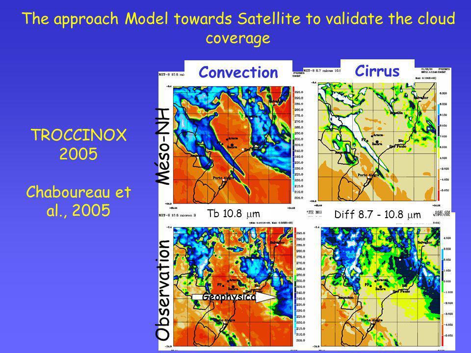 TROCCINOX 2005 Chaboureau et al., 2005