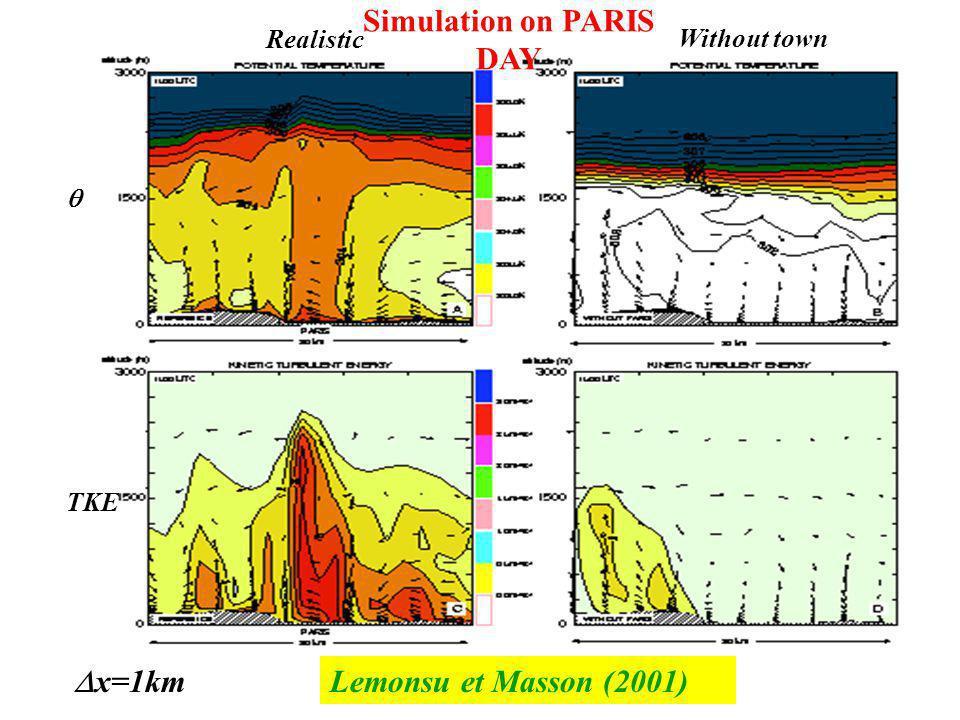 Simulation on PARIS DAY