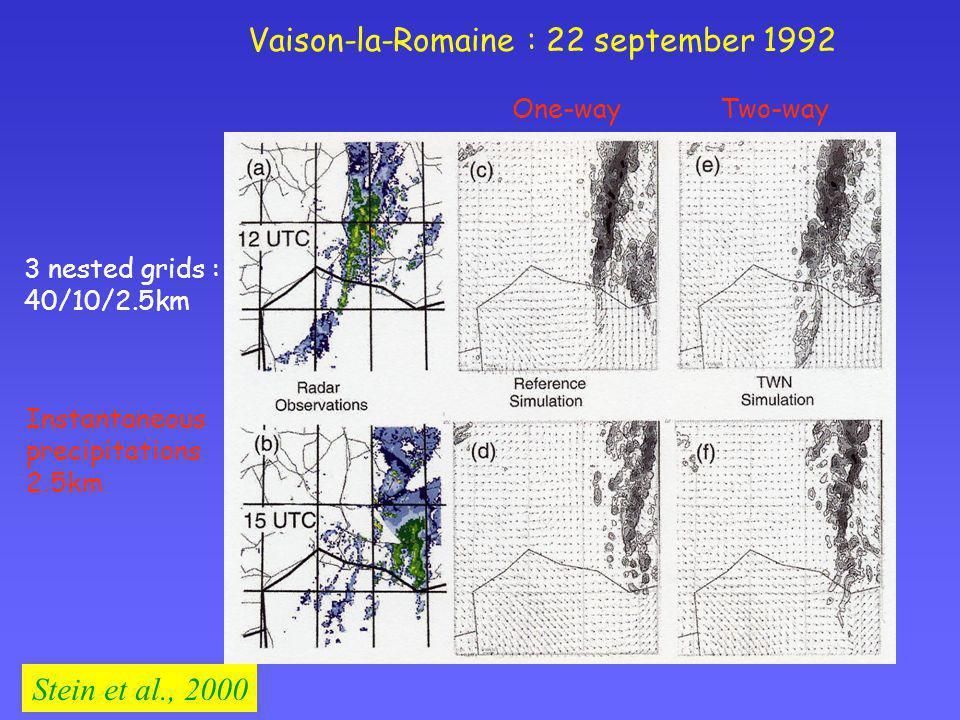 Vaison-la-Romaine : 22 september 1992