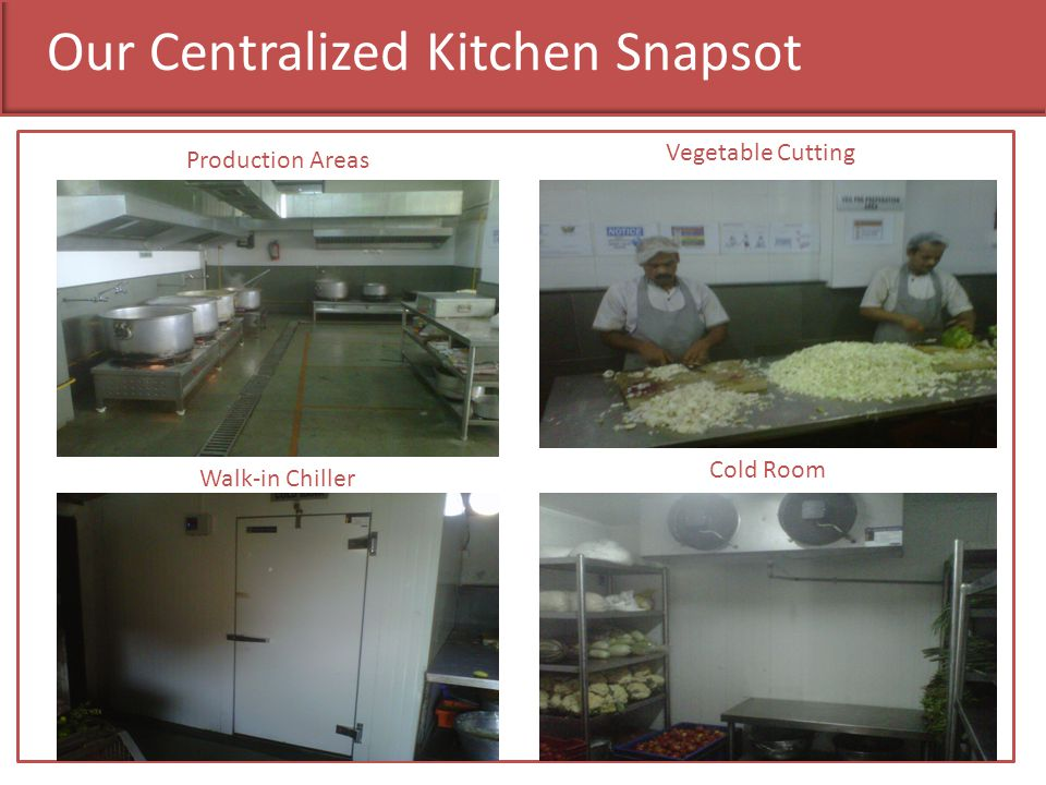 Our Centralized Kitchen Snapsot