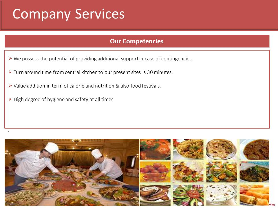 Company Services Our Competencies