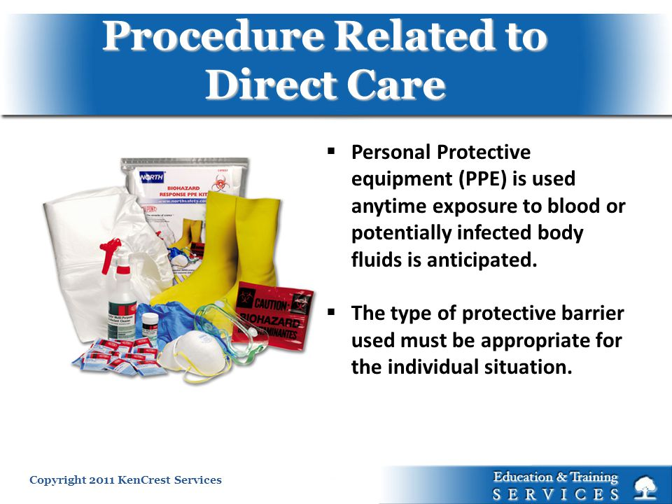 Procedure Related to Direct Care