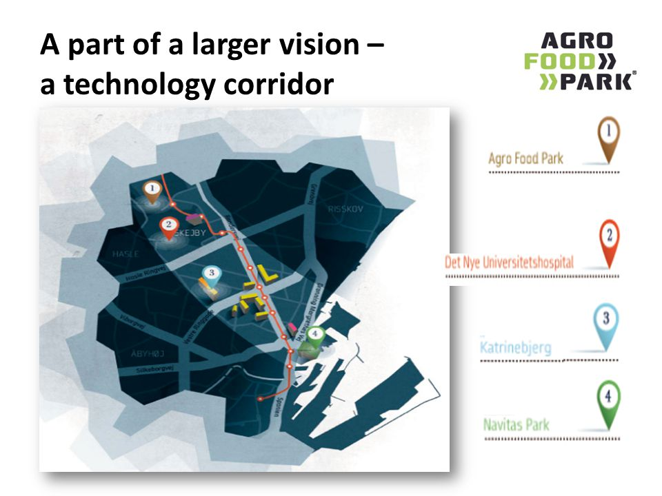 A part of a larger vision – a technology corridor