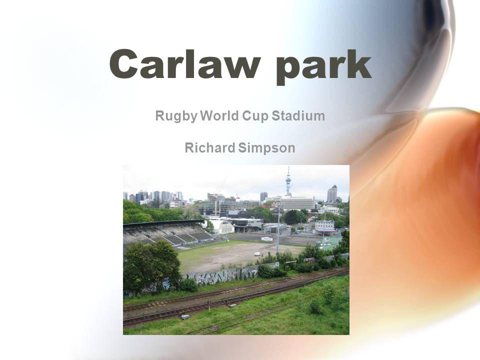 Rugby World Cup Stadium Richard Simpson
