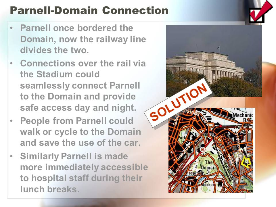 Parnell-Domain Connection