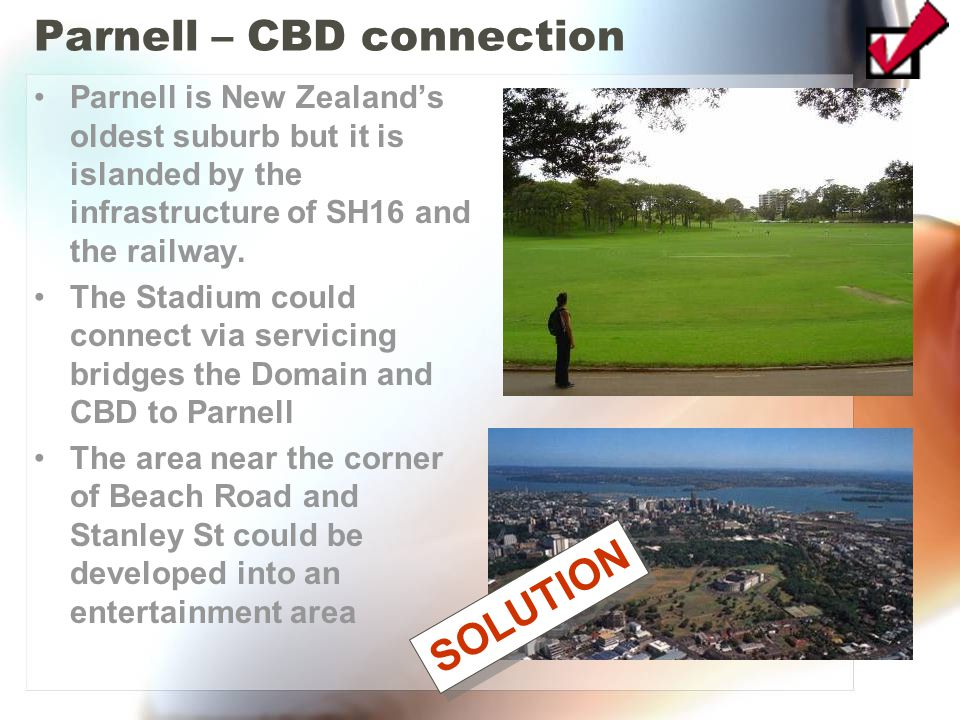 Parnell – CBD connection