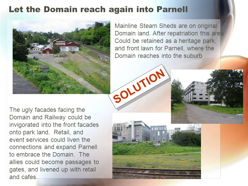 Let the Domain reach again into Parnell