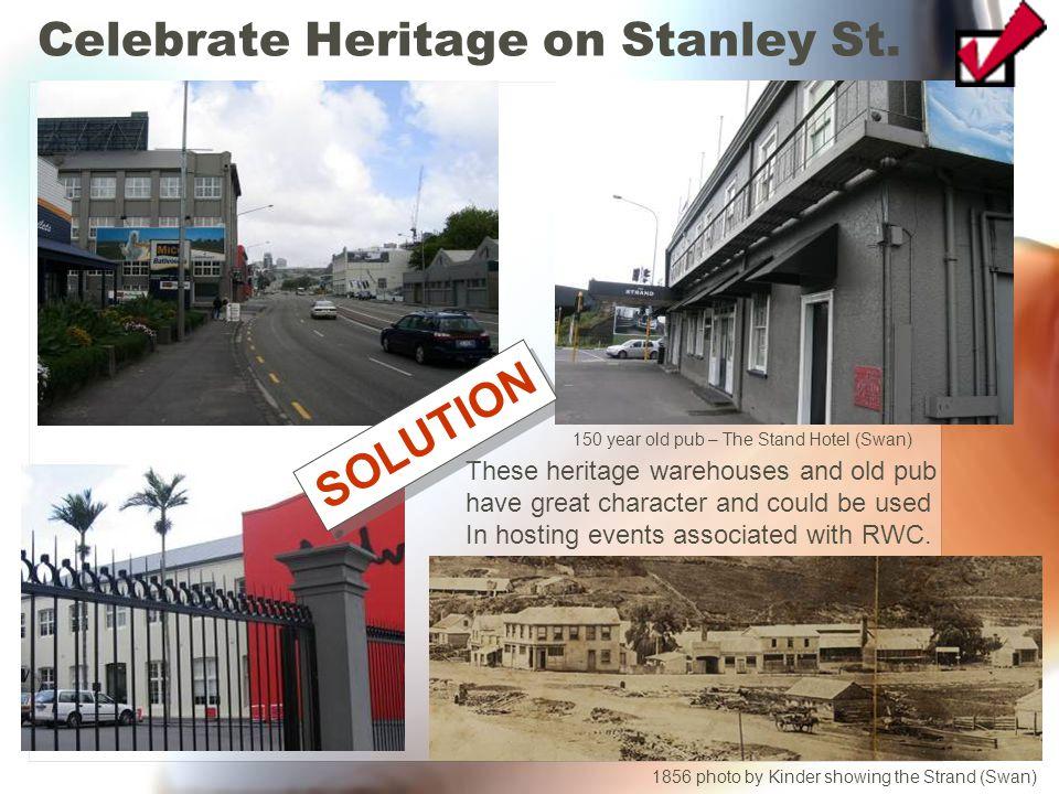 Celebrate Heritage on Stanley St.