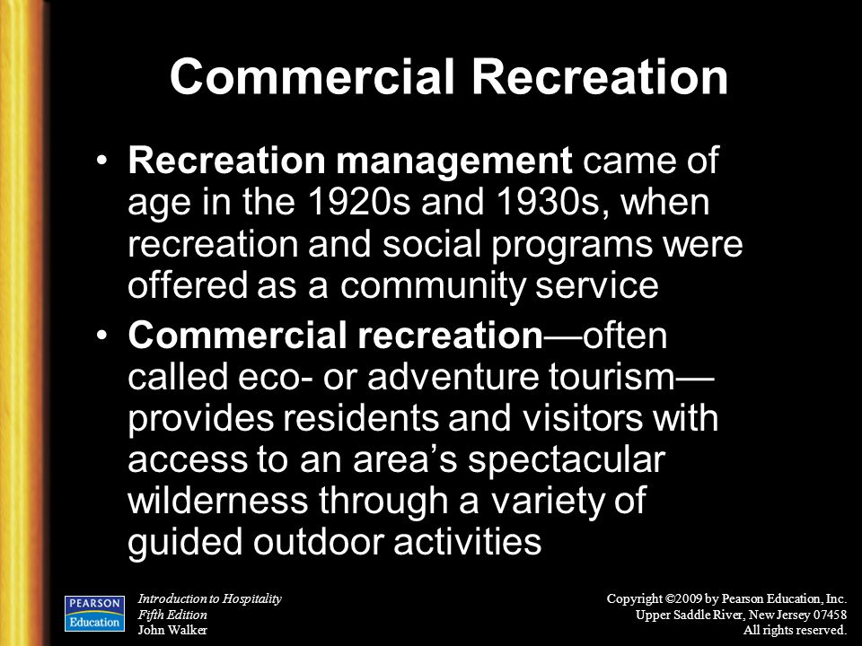 Commercial Recreation