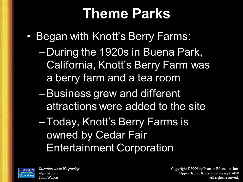 Theme Parks Began with Knott's Berry Farms:
