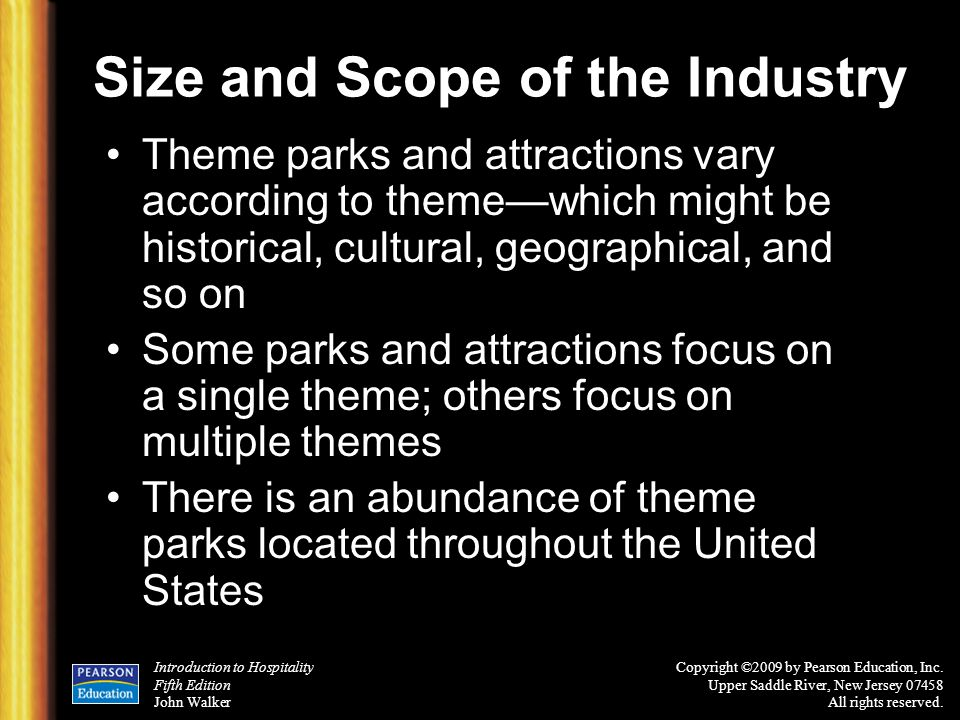 Size and Scope of the Industry