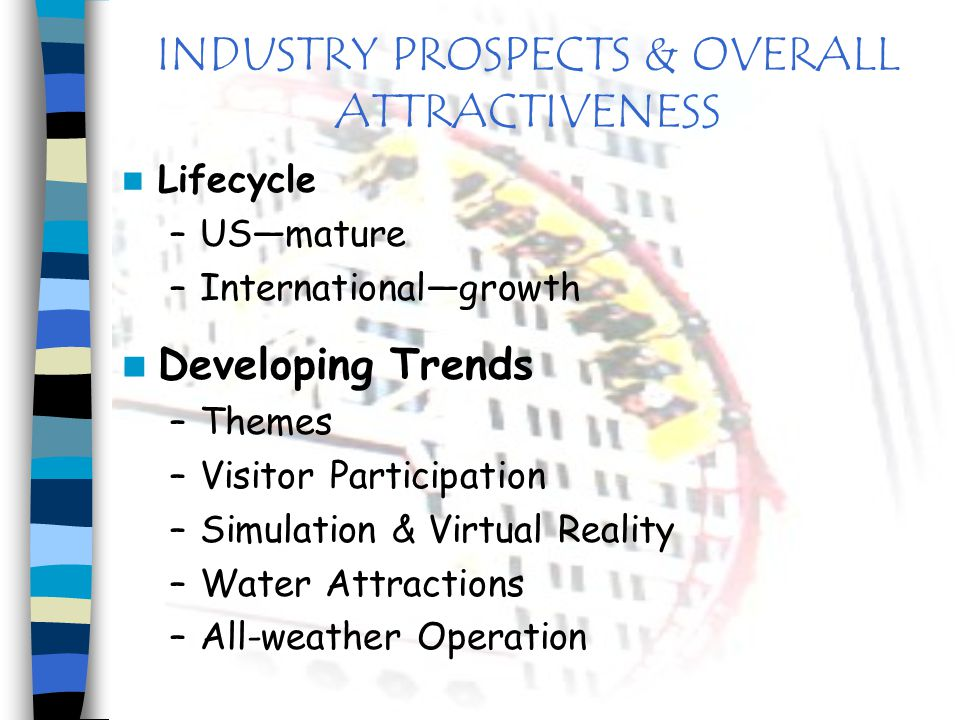 INDUSTRY PROSPECTS & OVERALL ATTRACTIVENESS