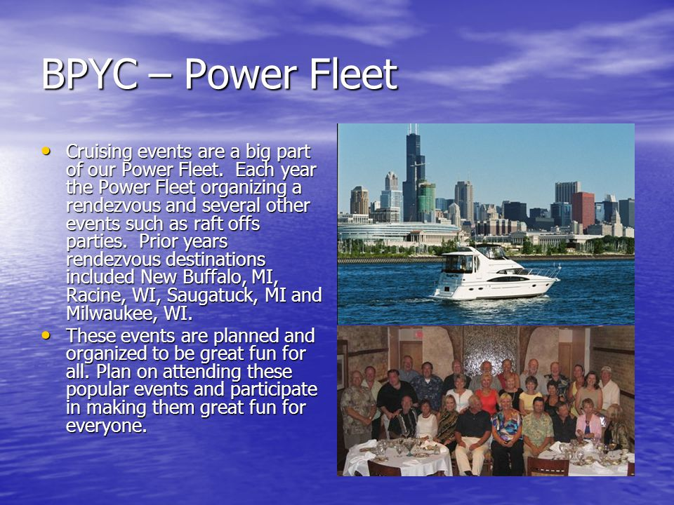 BPYC – Power Fleet