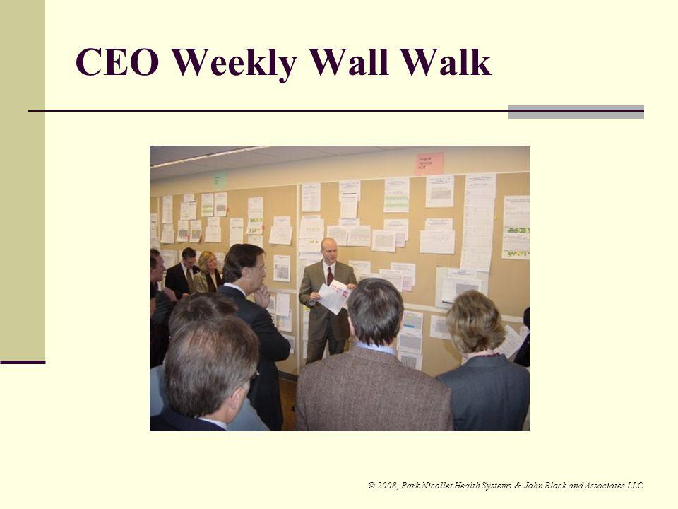 CEO Weekly Wall Walk