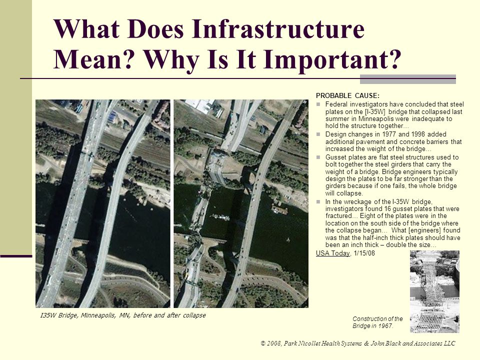 What Does Infrastructure Mean Why Is It Important