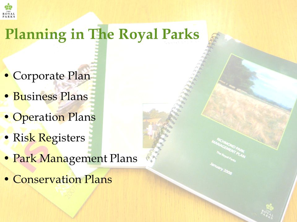 Planning in The Royal Parks