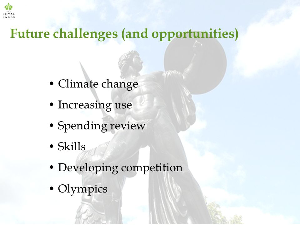 Future challenges (and opportunities)