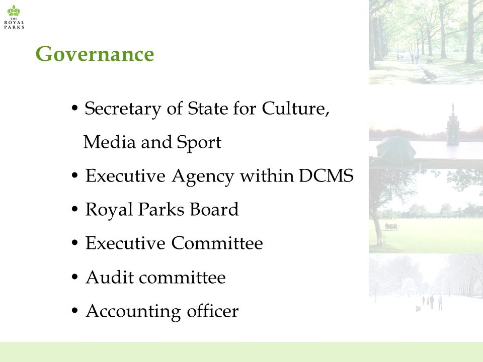 Governance Secretary of State for Culture, Media and Sport