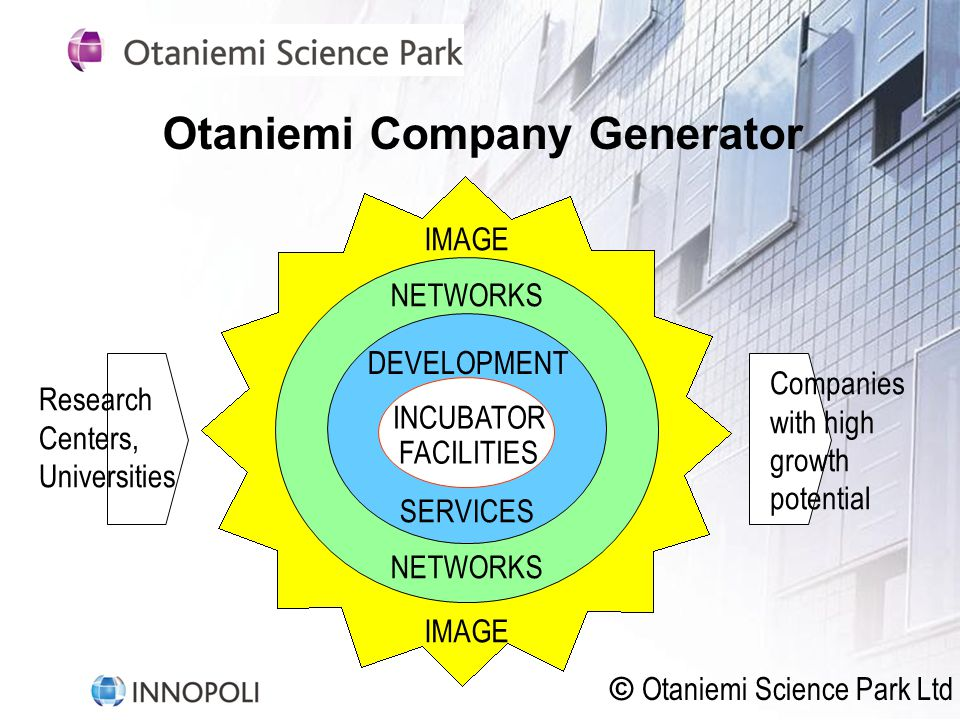 Otaniemi Company Generator
