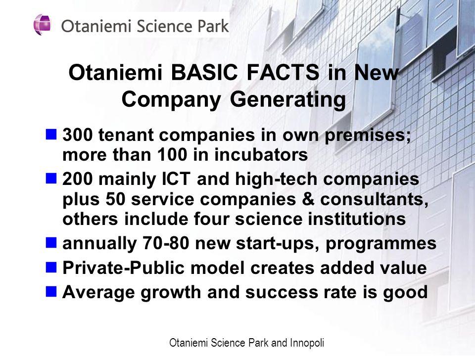 Otaniemi BASIC FACTS in New Company Generating