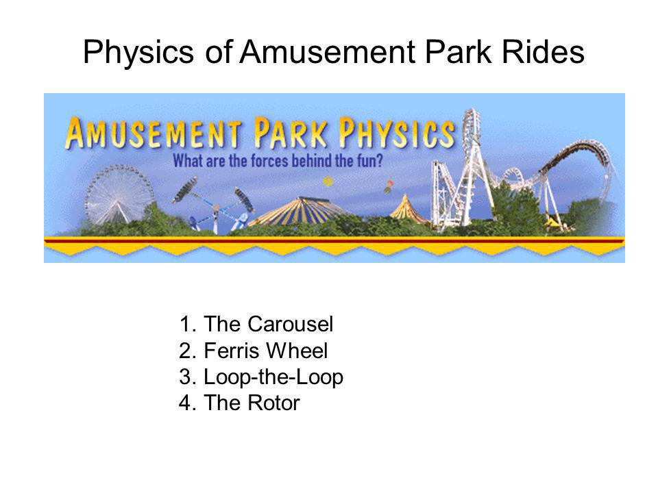 an overview of amusement parks physics The physics behind waterslides  the disney park is one of almost 2,000 water parks that have cropped up around the world in the past 30 years  but were also wondering just how they work.