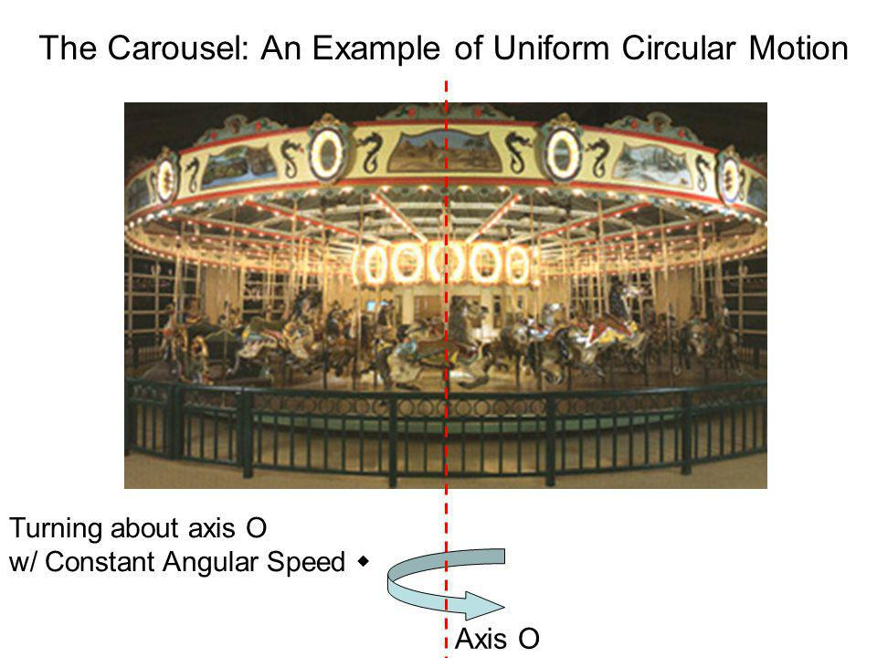 The Carousel: An Example of Uniform Circular Motion