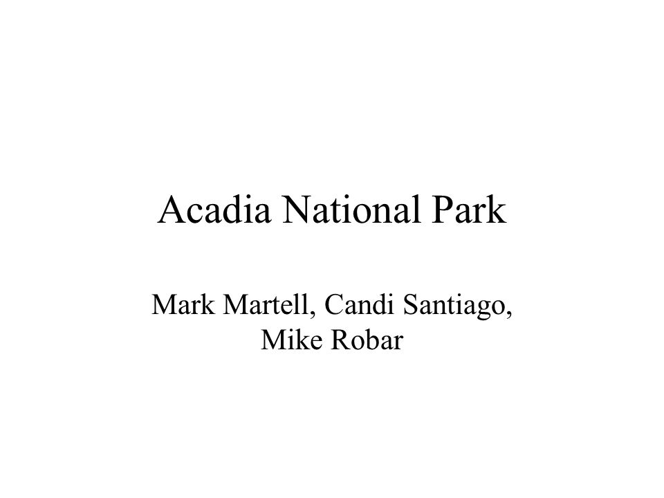 Mark Martell, Candi Santiago, Mike Robar