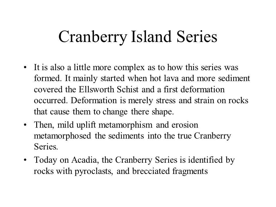 Cranberry Island Series