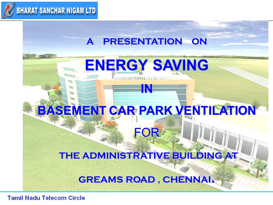 ENERGY SAVING IN BASEMENT CAR PARK VENTILATION FOR