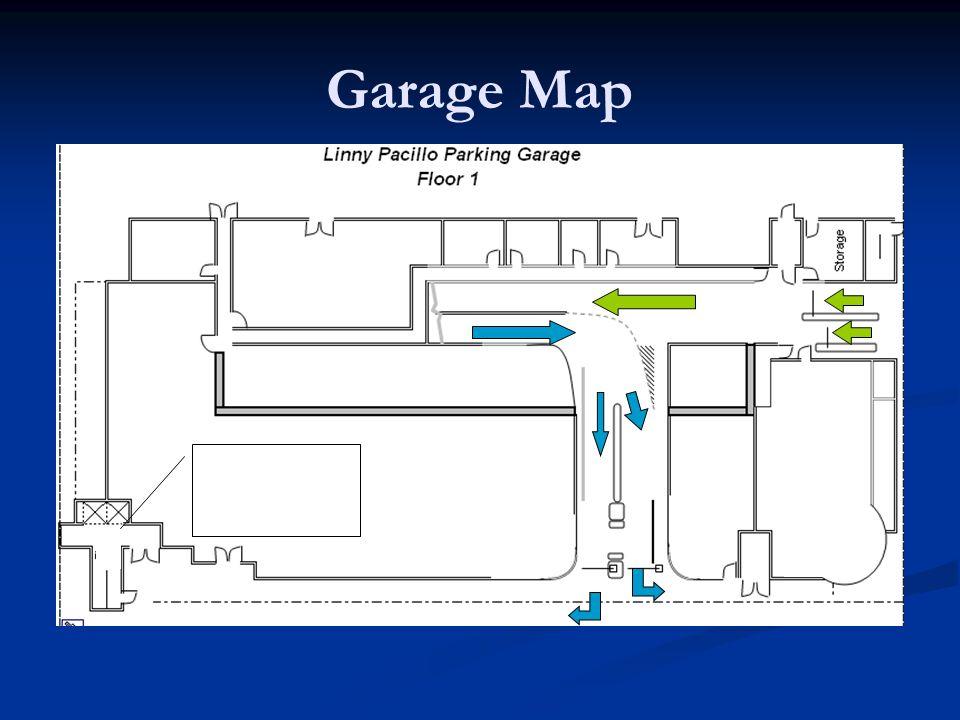 Garage Map Elevator Lobby