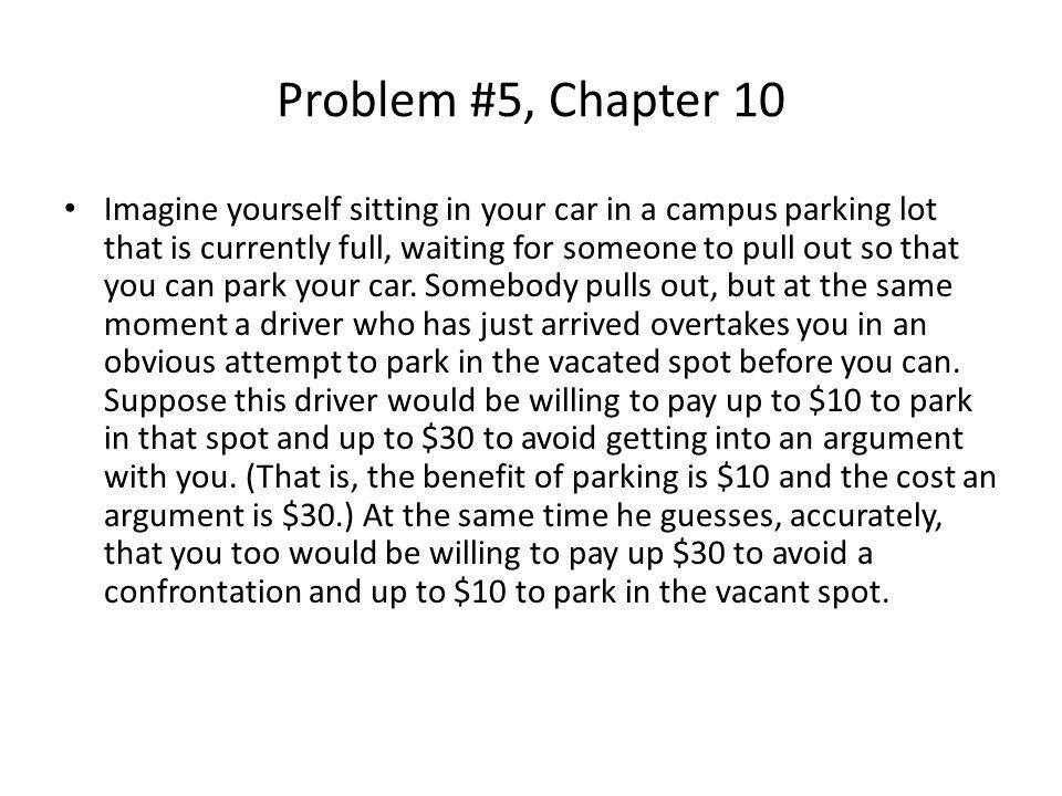 Problem #5, Chapter 10