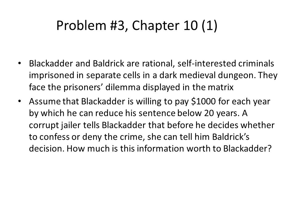 Problem #3, Chapter 10 (1)