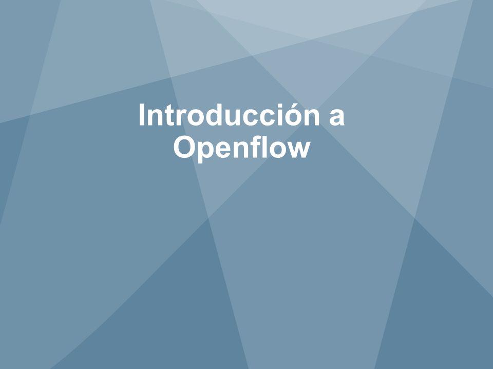 Introducción a Openflow