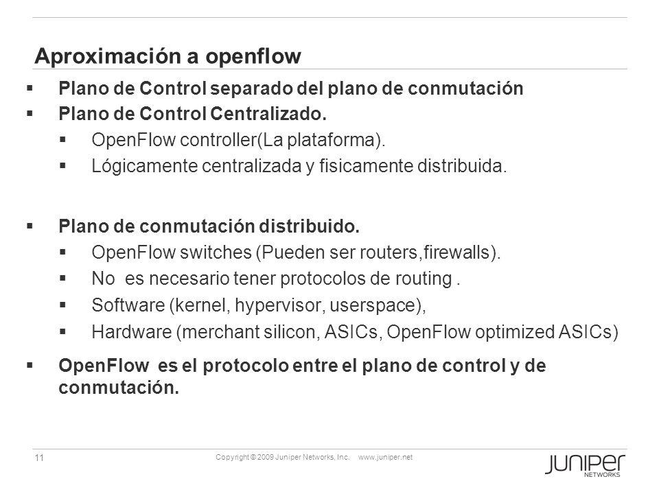 Aproximación a openflow
