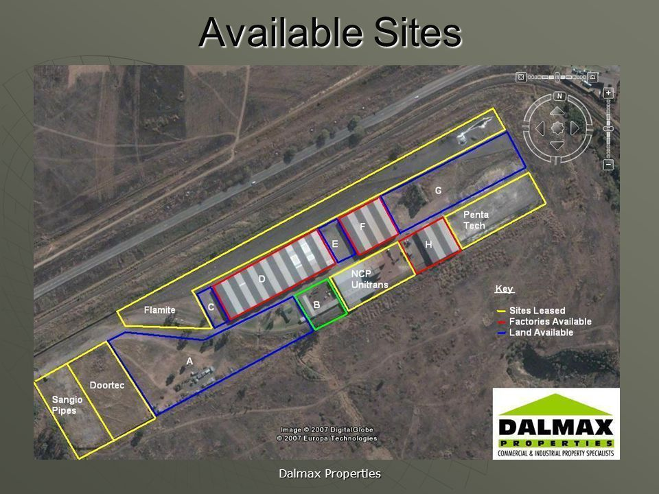 Available Sites Dalmax Properties