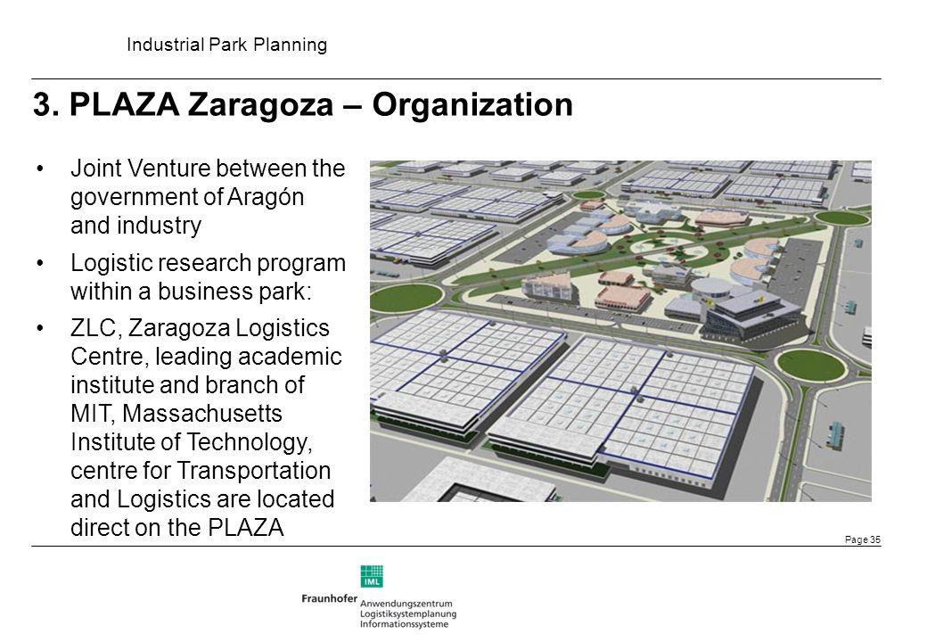 3. PLAZA Zaragoza – Organization