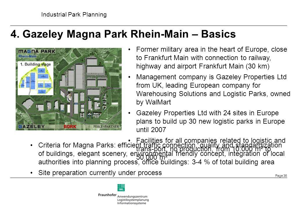 4. Gazeley Magna Park Rhein-Main – Basics