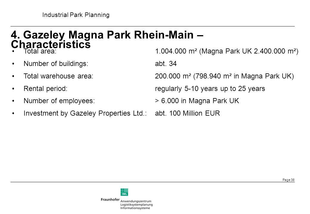 4. Gazeley Magna Park Rhein-Main – Characteristics