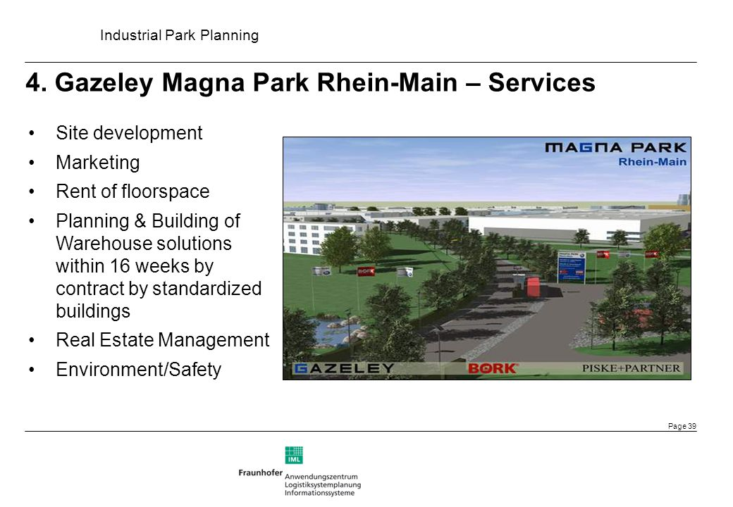 4. Gazeley Magna Park Rhein-Main – Services