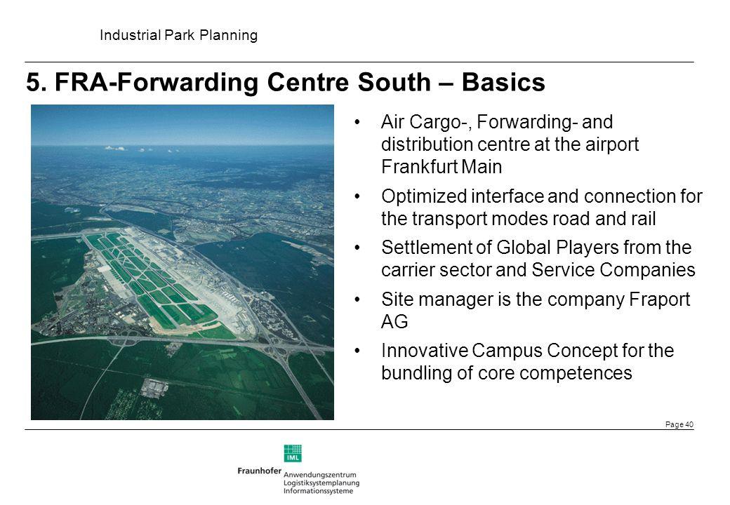 5. FRA-Forwarding Centre South – Basics