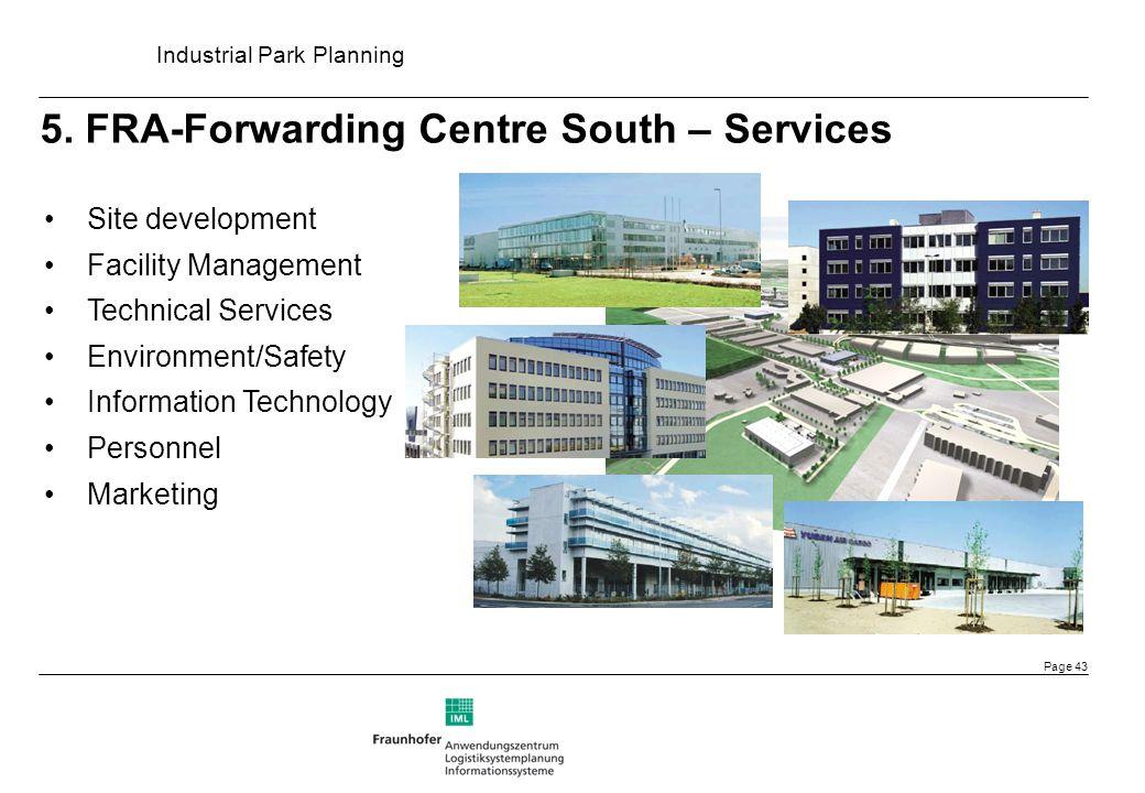 5. FRA-Forwarding Centre South – Services