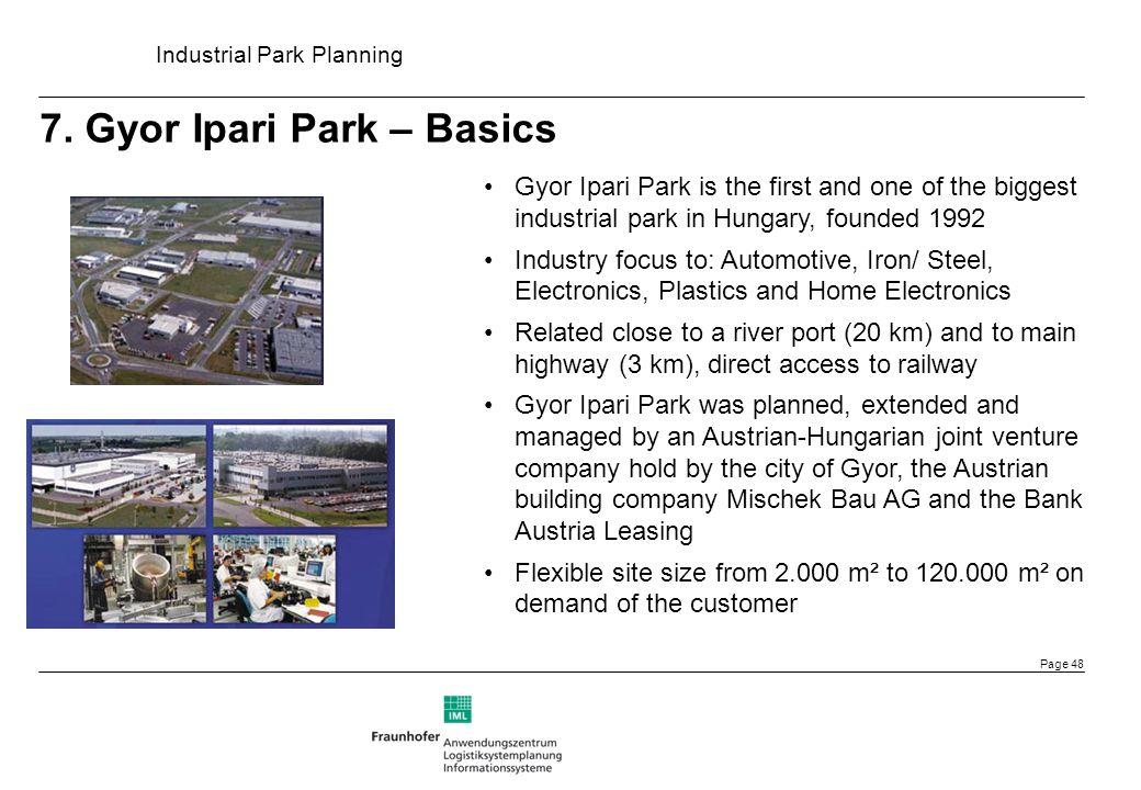 7. Gyor Ipari Park – Basics