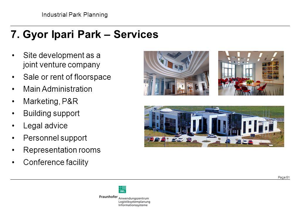 7. Gyor Ipari Park – Services