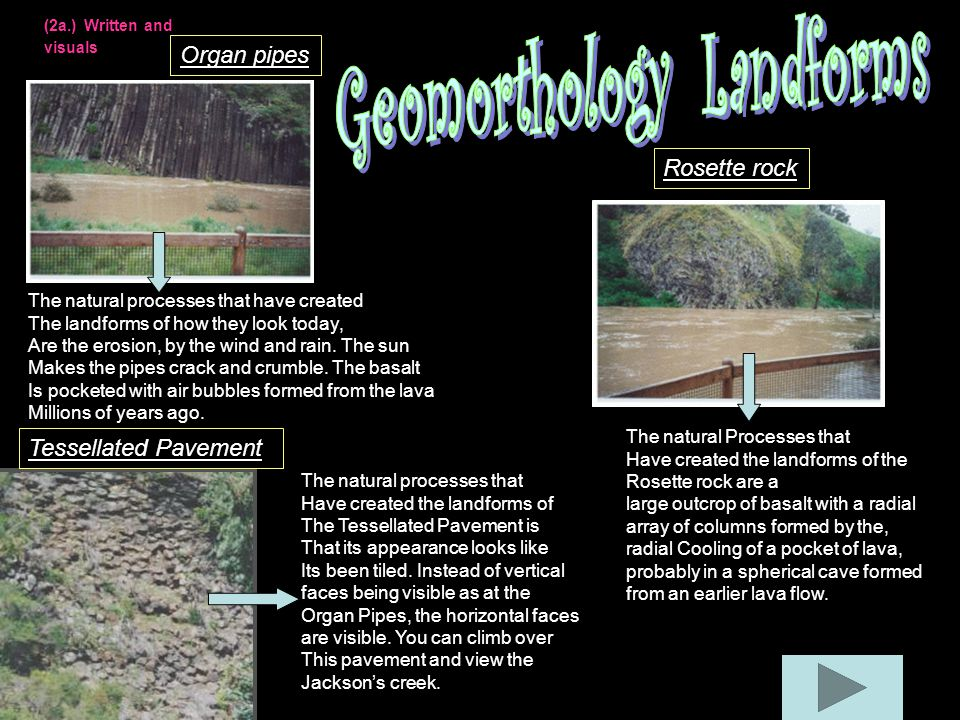 Geomorthology Landforms