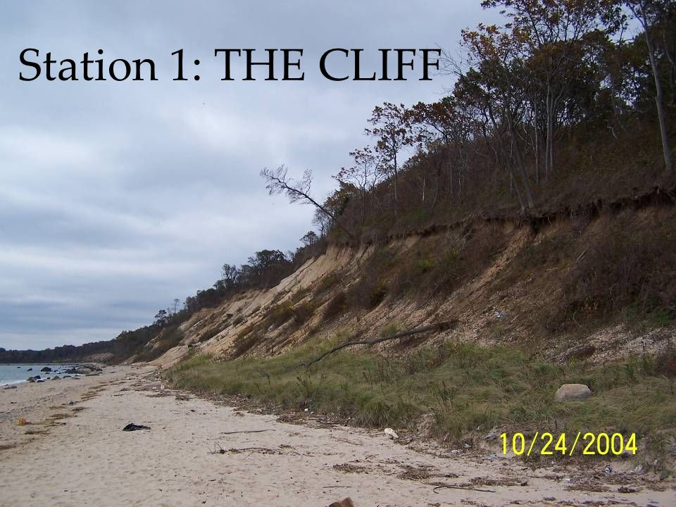 Station 1: THE CLIFF