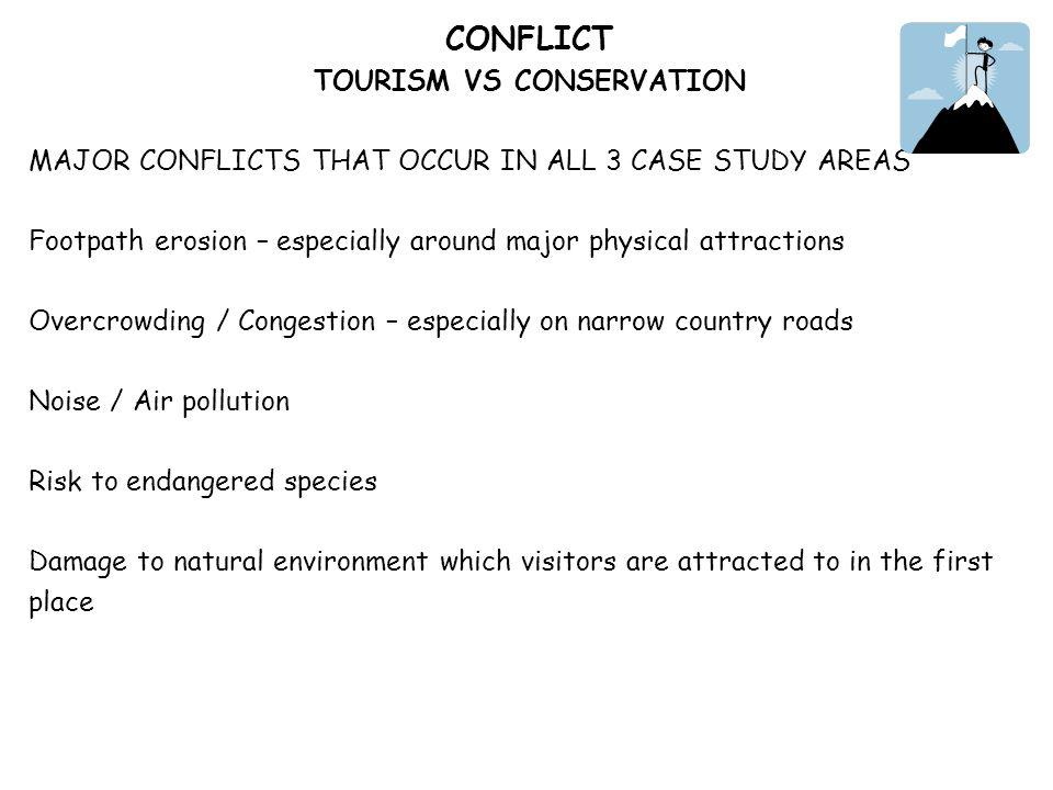 TOURISM VS CONSERVATION